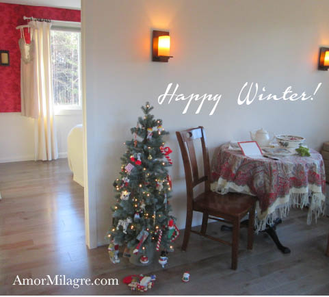 Amor Milagre Winter Holiday 2 Wishing Bulbs Positive Affirmation Flowers Christmas Gifts Giving organic vegan recipe journal amormilagre.com