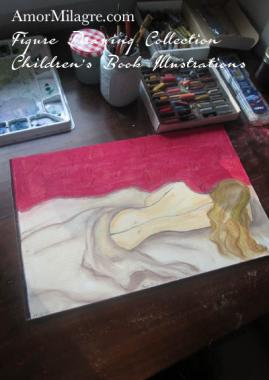 Amor Milagre Woman Sleeping Figure Drawing Nude Collection 5 amormilagre.com