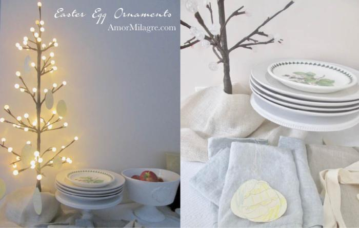 Amor Milagre Spring Easter Egg Tree Ornaments Children Baby The Crayon Club 2018 Art & Design amormilagre.com