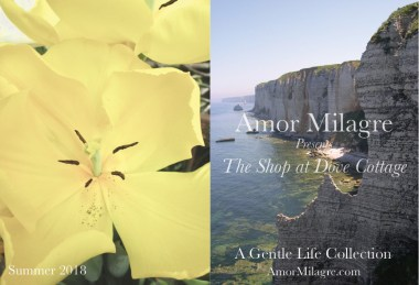 Amor Milagre The Shop at Dove Cottage Homepage Summer 2018 Art Design Organic Life Apparel Baby JUNE 2018 SALE! amormilagre.com