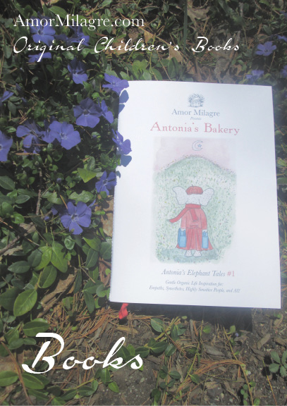 Books Amor Milagre Presents A Gentle Life Book Collection organic original children's book Baby & Child amormilagre.com