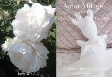 Amor Milagre The Shop at Dove Cottage Baby & Child Collection Summer 2018 Art Design Organic Life Apparel Baby Organic Nursery Toys amormilagre.com