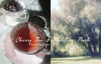 Amor Milagre Cherry Tea & Cacao Pudding Park Organic Vegan, Ethical Books, Art & Design amormilagre.com