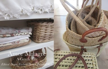 Amor Milagre A-Tisket A-Tasket Basket 3 Home Decor Interior Design Spring Ethical Organic Apparel Collection 2019 toddler Handmade Gift Shop Art Apparel Vegan Baby & Child Easter amormilagre.com