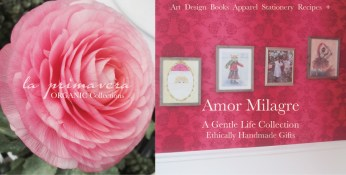 Amor Milagre Spring Cleaning 2019 Pink red ranunculus girls room Pleasures for the Weekend, Ethical Handmade Gift Shop Design Art Apparel Organic Vegan Baby & Child home interior design amormilagre.com