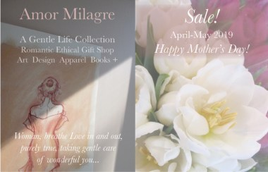 Amor Milagre 2019 Mother's Day Sale Spring Ethical Organic Gift Shop Handmade Gift Shop Art Vegan Baby & Child Woman bath pastel drawing feminist tulips amormilagre.com