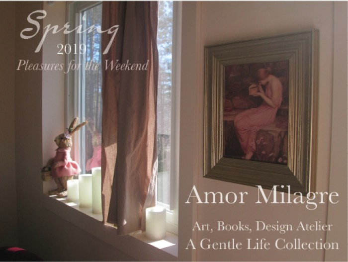 Amor Milagre Easter 2019 master painting pandora easter decor Pleasures for the Weekend Spring Ethical Organic Gift Shop Handmade Gift Shop Art Vegan Baby & Child amormilagre.com