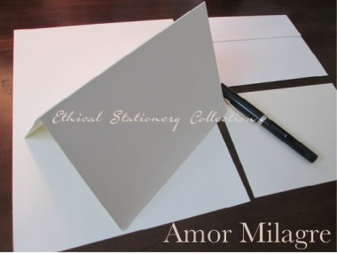 Amor Milagre Ethical Stationery Collection & Sets amormilagre.com Paperie personalized stationery greeting card