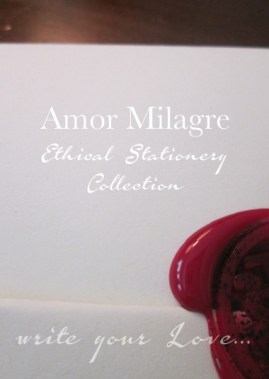 Amor Milagre Ethical Stationery Collection & Sets amormilagre.com Paperie red wax seal