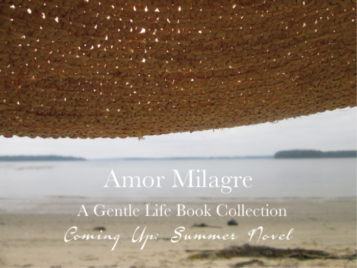 Amor Milagre Summer A New Novel Series A Gentle Life Book Collection Ethical Handmade Gift Shop Art Organic Woman amormilagre.com