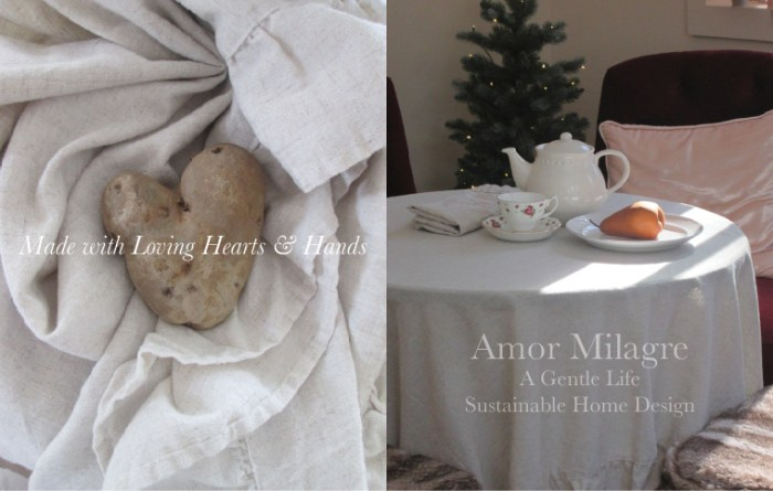 Amor Milagre Custom Built Home Interior Design Moments Goodnight, Dove Cottage 2019 Ethical dining table teatime amormilagre.com