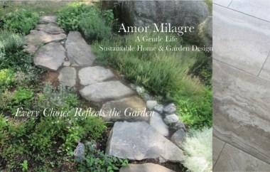 Amor Milagre Custom Built Home Interior Design Moments Goodnight, Dove Cottage 2019 Ethical garden stone tile bathroom floor amormilagre.com