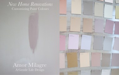 Amor Milagre New Home Renovation Design Diaries 1st Dusty Days 2019 Ethical Organic Gift Shop Handmade Gift Shop Art custom paint colours bedroom pink nude blush amormilagre.com