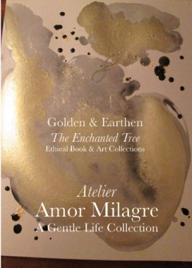 Amor Milagre Shop Golden Mother & Baby Child Dance in the Wind Night Watercolour Golden & Earthen The Enchanted Tree New Children's Book & Art Collection Autumn 2019 amormilagre.com