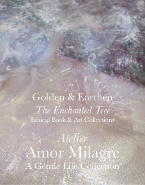 Amor Milagre Shop Golden Origin Tree Ancient Atelier 3 Golden & Earthen The Enchanted Tree New Children's Book & Art & Stationery Collection Autumn 2019 amormilagre.com