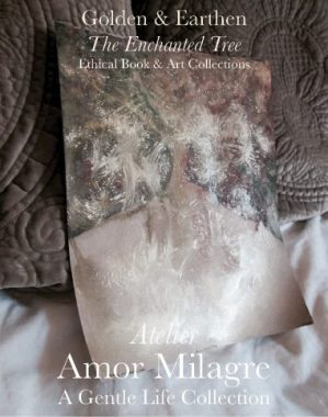 Amor Milagre Shop Golden Origin Tree Ancient Golden & Earthen The Enchanted Tree New Children's Book & Art & Stationery Collection Autumn 2019 amormilagre.com