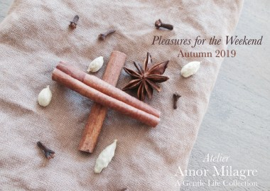 Amor Milagre Shop Pleasures for the Weekend Autumn Mulling Spices Apple Cider Interior Decor 2019 Ethical Gift Shop amormilagre.com