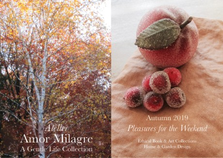 Amor Milagre Shop Pleasures for the Weekend Autumn Trees Sugared Fruit Fall Interior Decor 2019 Ethical Gift Shop amormilagre.com