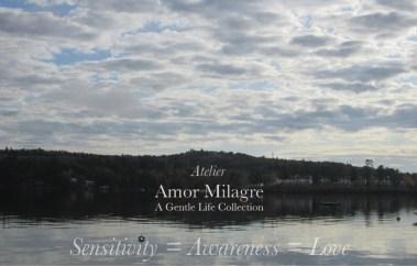 Amor Milagre Ambassador for Positive Change, Let's Redesign to Allow a Healthy World for Sensitive People & All, lake love Ethical Handmade Gift Shop amormilagre.com