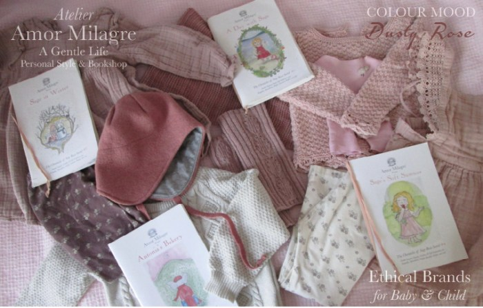 Amor Milagre Favourite Ethical Brands Beloved Baby & Child, Holiday Gift Guide Dusty Rose Blush Pink Colour Mood Fashion Personal Style Handmade Gift Shop Children's Books 4 amormilagre.com