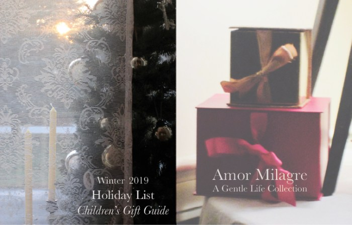 Amor Milagre The Favourite Series Fun Holiday Gift Guide for Children of All Ages 2019 Ethical Organic Gift Shop Handmade Art Baby & Child Parent Family amormilagre.com decor
