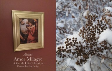 Amor Milagre A Gentle Life Collection Custom Interior Design Atelier Service Ethical Romantic Gift Shop female empowerment art choosing empowering and healing artwork amormilagre.com