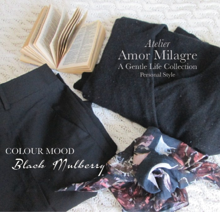 Amor Milagre Black Mulberry Colour Mood Fashion Personal Style Winter Spring 2020 Atelier Art Apparel Ethical Brands Apparel Outfit 2 amormilagre.com