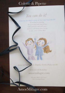 Amor Milagre Colette & Pipette Won't Use the Toilet New Ethically Handmade Children's Book Back Cover amormilagre.com