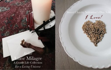 Amor Milagre I Love! Sweet Charity Valentine's Day Sale, Crimson Crush Colour Mood Fashion Personal Style 2020 Atelier Art Books Children Parent Ethical Gift Shop letters heart amormilagre.com