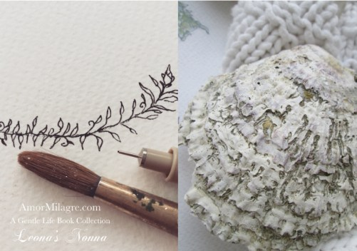 Amor Milagre Presents Leona's Nonna 1st Summer Festival The Love Letter Diaries #1 ethical book series art atelier seashell amormilagre.com