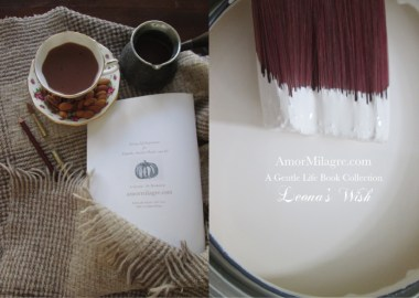 Amor Milagre Presents Leona's Wish 1st Autumn Festival The Love Letter Diaries #2 ethical book series amormilagre.com 6