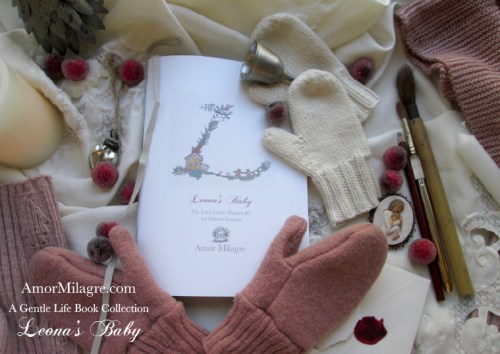 Amor Milagre Presents Leona's Baby 1st Winter Festival The Love Letter Diaries #3 ethical book novel series amormilagre.com