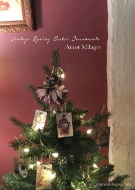 Amor Milagre Vintage Easter Spring Ornaments amormilagre.com 2