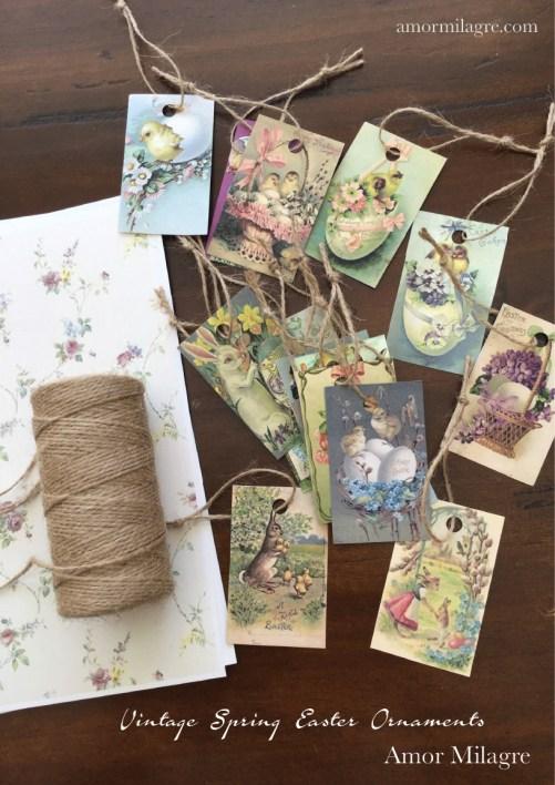 Amor Milagre Vintage Easter Spring Ornaments amormilagre.com 4