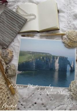 Étretat France Ocean Beach Seascape Photography Art Print Amor Milagre amormilagre.com 2