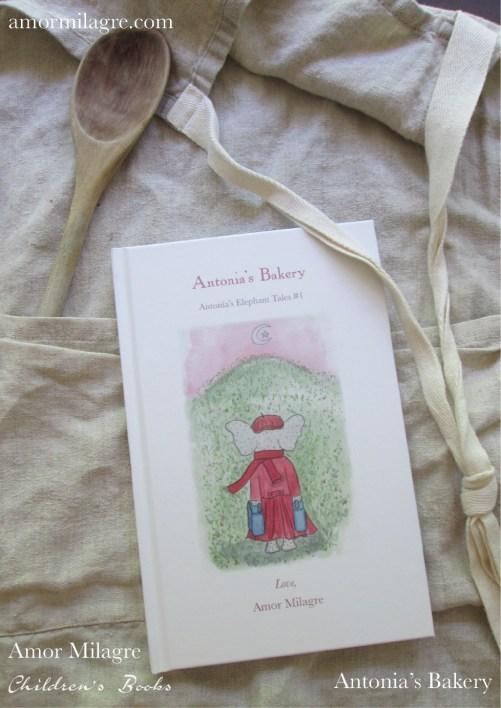 Amor Milagre Antonia's Bakery children's book amormilagre.com Book Release 10