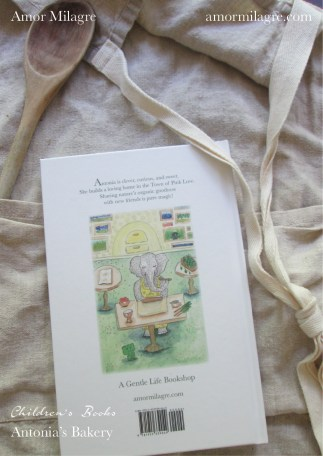 Amor Milagre Antonia's Bakery children's book amormilagre.com Book Release 7