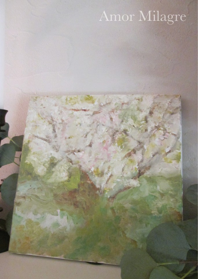 Amor Milagre Blossoming Tree #4 Spring Garden Oil Painting amormilagre.com 7