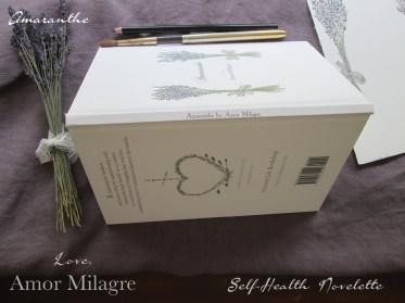 Amaranthe Novel by Amor Milagre Self-Health Book Lavender French NYC 14 amormilagre.com