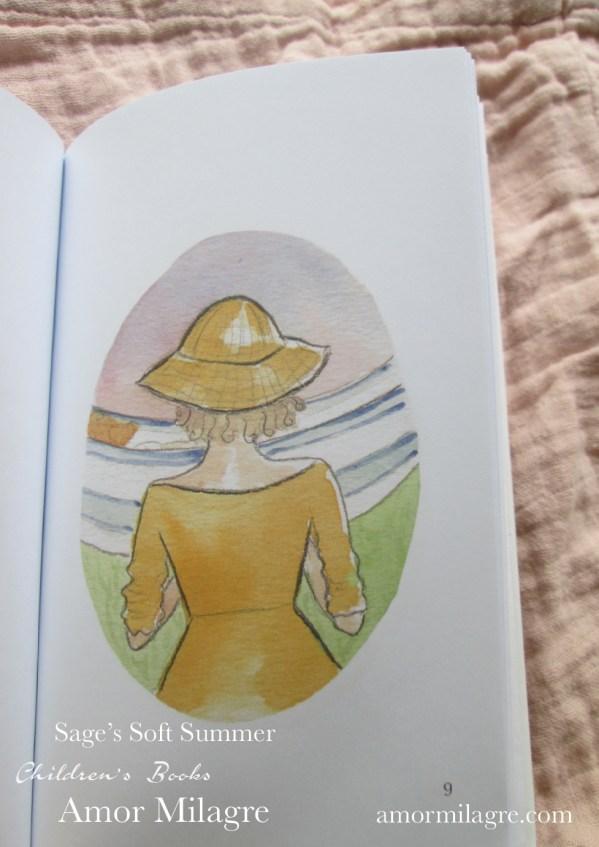 Amor Milagre Sage's Soft Summer children's book amormilagre.com 5