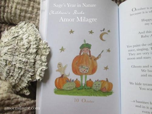 Amor Milagre Sage's Year in Nature Children's Book amormilagre.com 13