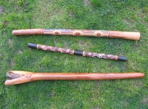 didgeridoo australiano distintos modelos