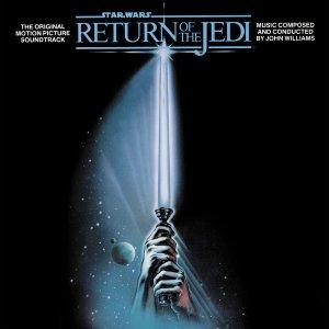 las bandas sonoras de la saga de Star Wars - portada del disco el retorno del jedi
