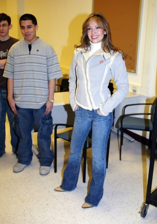 """Thalia In School Appearance For The """"What's Your Anti-Drug"""" Promotion"""