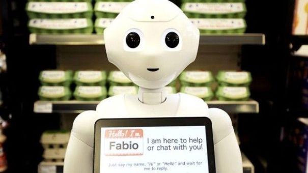 Image result for robot fabio