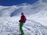Skiing Le Grand Vallon
