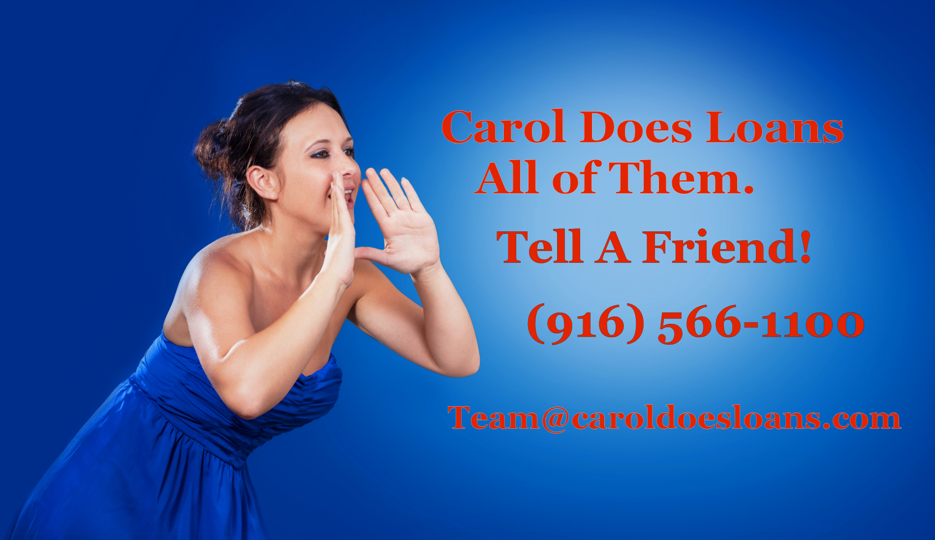Carol Does Loans - All of Them
