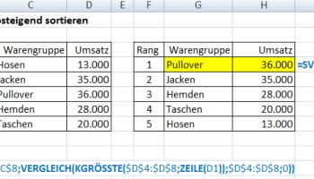 Rennerlsite mit Excel
