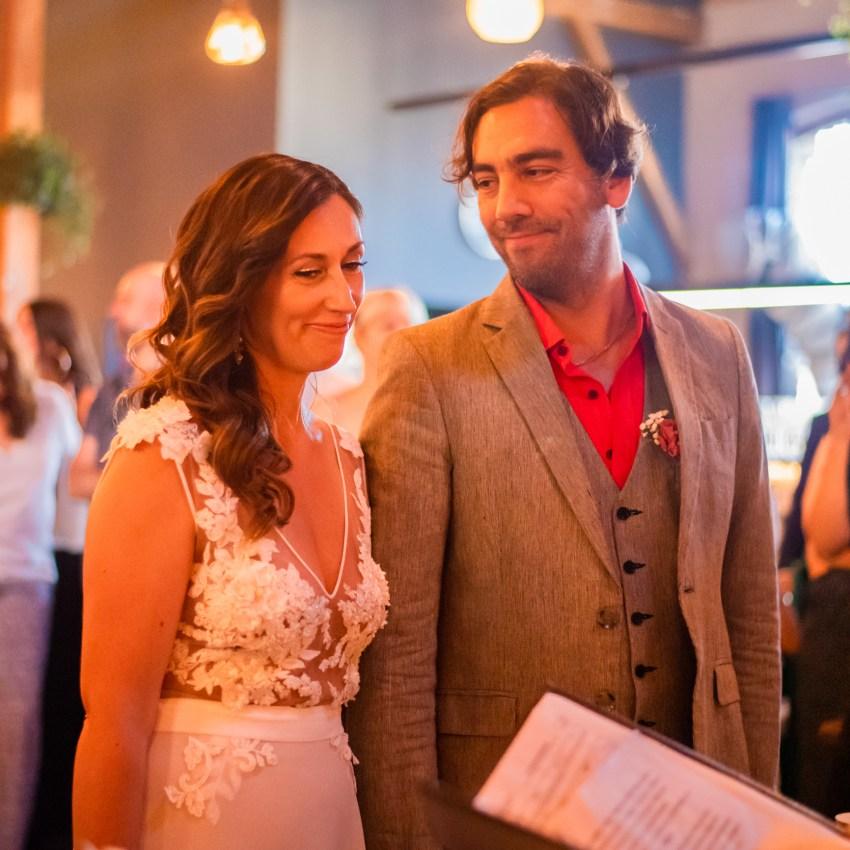 Cristóbal y la Jóse se casaron con un Amor&Pastas en nuestra casa!