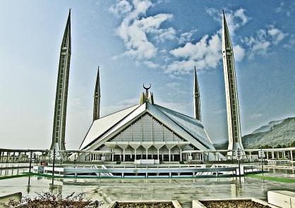 Shah Faisal Mosque, Islamabad, Pakistan